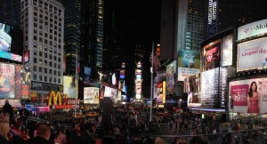 Panoramica Times Square
