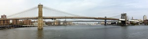 Panoramica Brooklyn Bridge